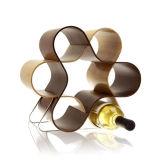 De flexibele AcrylVertoning van de Wijn, de Houders van de Vertoning van de Fles van het Perspex