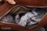 上の方法旅行本物の学生かばんの革製バッグ(F10630)