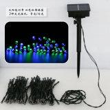 Árbol de la pared de tierra Multicolorful tira la cadena Solar Linterna LED Decoración lámpara de luz