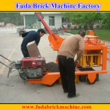 Qm4-45小企業のための移動可能なディーゼル油エンジンの煉瓦機械