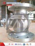 Vávula de bola industrial 2PC del acero inoxidable de JIS10K