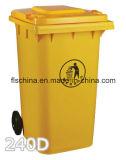 De plastic Bak van het Afval 120L met Maagdelijk Nieuw HDPE Materiaal voor OpenluchtGebruik