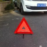 De Gevarendriehoek van het voertuig
