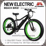 2018 새로운 뚱뚱한 눈 전기 자전거 바닷가 함 전기 자전거 250W 350W 500W 36V 48V