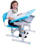 Pratical 교육 장비 학교 가구 아이들 책상 Hyd001 분홍색과 파란 색깔