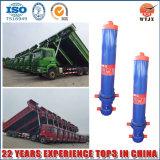 Fabricante profissional venda quente do cilindro hidráulico telescópico para máquina de dumping