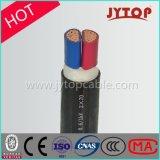 0.6/1kv 2コアXLPE絶縁体の銅ケーブル