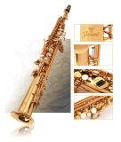 Tout droit Saxophone Soprano /Laque d'Or/comme Yanagisawa