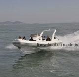 Liya 8.3m Fabrikanten van de Boot van Hypalon van de Rib Opblaasbare in China