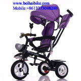 Triciclo del bebé de la rueda de China 3 triciclo de 360 del grado niños de la rotación