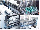 Automatische Pappe-linearer Kasten, der Maschine (GK-1100GS) sich faltet, klebend