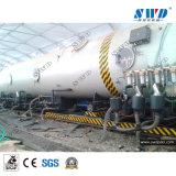 Tubo de alimentación de agua PEHD de plástico que hace la máquina