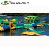 Muy divertido parque acuático hinchable gigante inflables Parque acuático para niños y adultos