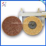 磨き、粉砕の金属および石のためのファブリック車輪のナイロン車輪