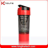 Plastikflaschen-Firmenzeichen-Drucken des schüttel-Apparat600ml mit Plastiksieb u. einem unteren Behälter (KL-7008)