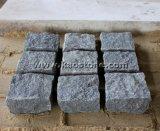 Природные темно-серый гранит мощеной/куб камень почву для пола