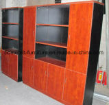 De houten Archiefkast van het Kantoormeubilair van de Boekenplank van het Bureau Boekenkast Aangepaste