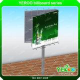 金属物質的な広告LED掲示板デザイン