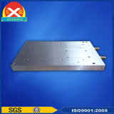 물 냉각 찬 격판덮개 트랜지스터를 위한 알루미늄 밀어남 열 싱크