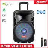 Haut-parleur rechargeable portatif populaire actif de Bluetooth avec la lumière Cx-10d