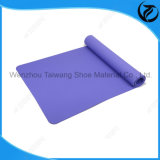 Confortable Eco-Friendly Anti Slip Dual / EVA / TPE / PVC Color Nature Rubber Yoga Mat