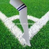 De Sok van de Voetbal van de in het groot Gestreepte Katoenen Kleurrijke Mensen van de Knie Hoge