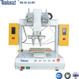 De 4-as van China de Hoge Solderende Robot van de Desktop van de Transformator van de Nauwkeurigheid/Solderende Machine