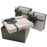 Joyero de regalo de papel, cartón de tamaño personalizado Caja de papel 2018