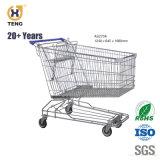 Como60um carrinho de compras de aço para Carrinho de Supermercado