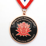 Medalla de encargo barata del ballet de la concesión 3D del metal del fabricante chino