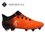 良質ほとんどの普及したメンズ屋外のフットボールの泥炭のサッカーの靴
