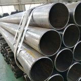 Schwarzes rundes Stahlrohr des Metalkohlenstoff-ERW