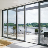 Portello di vetro di profilo della vetroresina della stoffa per tendine di plastica del blocco per grafici UPVC per la stanza da bagno