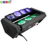 Gbr-Bl841f 8X10W RGBW 4in1のくもLEDのビーム移動ヘッドライト