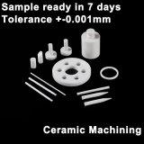 Technische Alumina Ceramische het Machinaal bewerken Staven, Ceramische Houder, Ceramische die Basis door CNC Machinine met Weerstand Op hoge temperatuur wordt gemaakt