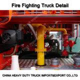 De Tankwagen van het Vuurwater van Sinotruk HOWO/de Professionele Vrachtwagen van de Brandbestrijding voor Verkoop