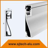 壁のフィートラインを取り替えるフランジのないアルミニウムLEDのプロフィール