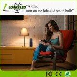 5W E12 Decorativos Dimerizáveis Wfi Lâmpada Vela inteligente funciona com Alexa