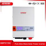 6kw 저주파 변압기 PV 위원회를 위한 순수한 사인 파동 백업 전력 공급 태양 에너지 변환장치