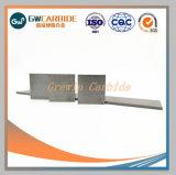Yg8 YG6 des bandes de carbure de tungstène pour outils de coupe