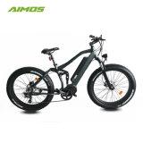 Aimos Fahrrad neuer des Entwurfs-Modell-heißer Verkaufs-fettes Gummireifen-E mit hinterer Aufhebung