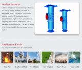 Pompe verticale de flux mélangée par série de Tkx pour l'évacuation d'extraction