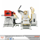 3 in 1, Uncoiler Streckernc-Servorollenpräzisions-Zufuhr-Maschine, lamellierende Maschine (MAC4-600)