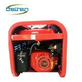 4つの車輪が付いている9ah電池ガソリン発電機セットとの3800 3.5kw 4stroke Ohvの電気主開始