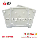 Châssis de la plaque hydraulique filtre presse pour les eaux usées de dépoussiérage