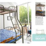 工場供給の学校家具の金属の寮の取り外し可能な二段ベッド