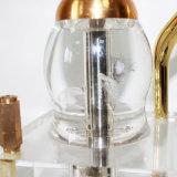 De Vaas + de Pijpen van het water voor de Rokende Verstuiver van de Waterpijp van Cigarett Shisha van de Pijp van het Glas van de Waterpijp van het Glas van de Pijp van het Asbakje van de Staaf Shisha Rokende Rokende Mini Elektronische