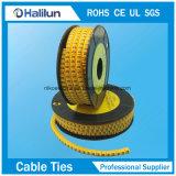 Marcador do cabo do círculo com PVC macio
