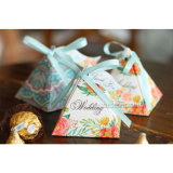 Wholsale crea el rectángulo de empaquetado del triángulo para requisitos particulares para el regalo