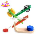 Аппаратуры оптовой Multi музыкальной игрушки игрушки установленной деревянной музыкальные для малышей W07A124